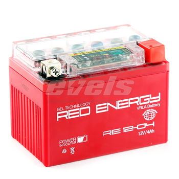 Red Energy RE12-04 (YTX4L-BS 4А/ч) зал.